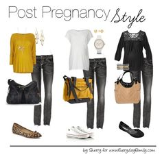 """""""Post Pregnancy Style"""" by thelifeoftheparty ❤ liked on Polyvore featuring Rock Revival, Topshop, Converse, Stella & Dot, Sperry, FOSSIL, MaCherie, Skip Hop and Melissa"""