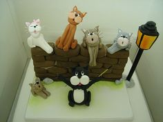 cat choir cake