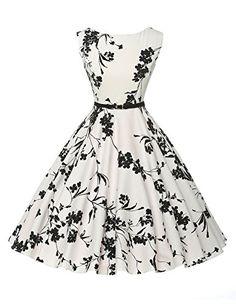 Sleeveless Cocktail Party Dress Cotton Swing Dresses Size L VL6086-11 GRACE KARIN® Vintage Dresses http://smile.amazon.com/dp/B00UAHJCES/ref=cm_sw_r_pi_dp_LXuPwb0RFR35Q