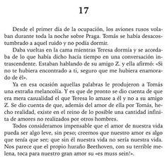 La Insoportable Levedad del Ser - Milán Kundera