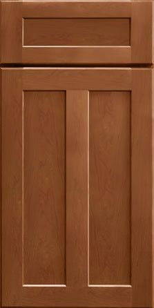 Merillat Masterpiece Cabinetry-Landis Maple Cognac from waybuild