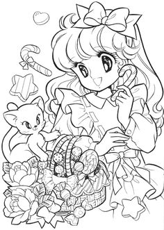 Nour Serhan uploaded this image to 'Tinkle Dreamy Joanna colouring book'. See the album on Photobucket. Vintage Coloring Books, Coloring Book Art, Cute Coloring Pages, Colouring Pics, Animal Coloring Pages, Coloring For Kids, Printable Adult Coloring Pages, Princess Coloring, Colorful Pictures