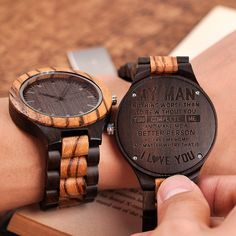 Men's Engraved Watch Surprise Gifts For Him, Thoughtful Gifts For Him, Romantic Gifts For Him, Personalised Gifts For Him, Great Gifts For Men, Love Gifts, Best Gifts, Cute Ideas For Boyfriend, Diy Gifts For Boyfriend