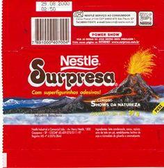 Nestle Surpresa... superfigurinhas de Dinossauros!!!