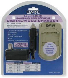 Empire Scientific DVU-SAM2 Ac/Dc Univ Charger For Samsung 2