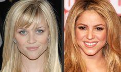 Corte de cabello para rostros en forma de diamante como Reese Whiterspoon y Shakira