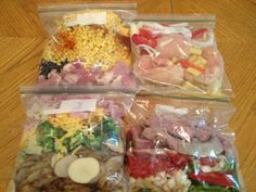 e basics of what we did today. Jamie (my sister-in-law) and I decided to go in together to purchase the ingredients for these four meals. ...