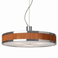 Esprit Lounge Hanglamp Bamboe - maybe above the dining table?