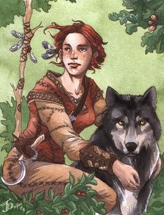 Imagem de old, druid, and druida