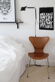 Artemide Tolomeo Micro, Sjuan Arne Jacobsen. From Trendenser.se - en av Sveriges största inredningsbloggar