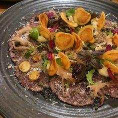 Beef carpaccio 😋😍🍴🍸#littlelefroy #fremantle Perth, Beef, Instagram, Food, Meat, Essen, Ground Beef, Yemek, Eten
