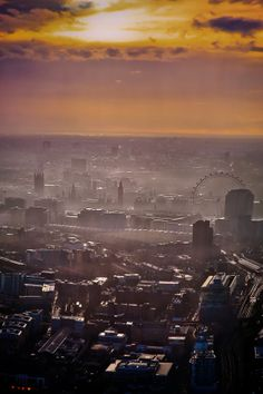 After rain - London by Les Kancir on 500px