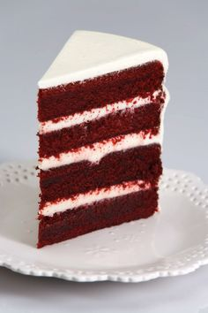 RED VELVET CAKE - Recipe & Video ~ Joy Of Baking