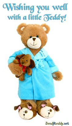 Wishing you well! #SendAteddy #wishyouwell #Getwellsoon #Teddybear