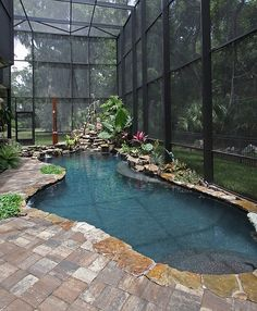 (via 50 Amazing Indoor Swimming Pool Ideas For A Delightful...