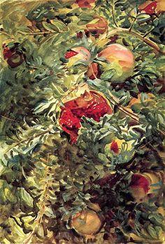 Pomegranates 1908. Джон Сингер Сарджент