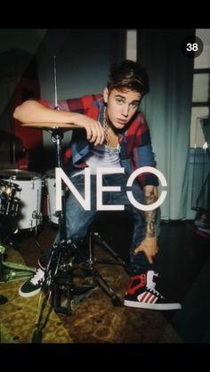 Justin Bieber; Neo Adidas photoshoot 2013