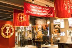Alltag in der DDR; tentoonstelling in de Kulturbrauerei