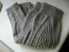 Ravelry: Project Gallery for Traveling Stitch Legwarmers pattern by Lisa R. Myers- free pattern