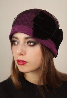 cloche hat by Anna Chocola Brighton Milliner
