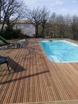 aménagement extérieur terrasses assainissement Puygouzon BTBJ Christophe