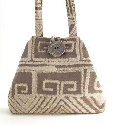 borsa beige, borsa in tessuto tote converte in borsa hobo, borsa della spalla, borsa per pannolini, sacchetto di libro, il sacchetto di spalla, sacchetto di tutti i giorni, la borsa in tessuto