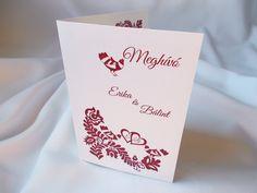 magyar népmesés esküvői meghívó 04.1 Invitation Cards, Invitations, Container, Weddings, Save The Date Invitations, Mariage, Wedding, Marriage, Invitation