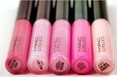 Gotta love pink gloss...
