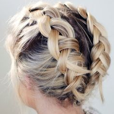 Braid your short hair to perfection through this detailed video tutorial. Gather the hair essentials featured to recreate this fun and fab everyday hairstyle. French Braid Short Hair, Braids For Short Hair, French Braids, How To Style Short Hair, French Hair, Pretty Hairstyles, Braided Hairstyles, Hairstyle Ideas, Hairstyle Braid