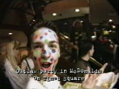 NYC club kids and drag queens Michael Alig