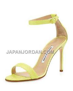 http://www.japanjordan.com/manolo-blahnik-chaos-snakeskin-anklestrap-sandal-lime.html 送料無料 MANOLO BLAHNIK CHAOS SNAKESKIN ANKLE-STRAP SANDAL LIME Only ¥23,203 , Free Shipping!