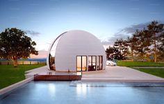 Уникальный купольный дом площадью 191.5 м² под ключ от 3 990 000 руб. Нашу смету не нужно умножать на два. Строим в России и не только. Реально строим!