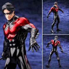It's The DC Comics ArtFX+ Statue - New 52 Nightwing. Kotobukiya's line of ArtFX+ statues based on Super Heroes and Villians from DC Comics continues with Nightwing! New, highly detailed sculpt is the