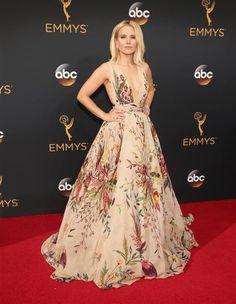 Kristen Bell emmys - 2016 Emmy Awards Red Carpet