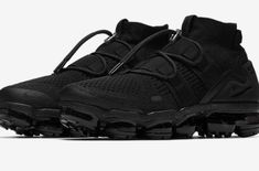 e4e58d0b5dcf4 Release Date  Nike Air VaporMax Flyknit Utility Maximum Black This Nike Air  VaporMax Flyknit Utility