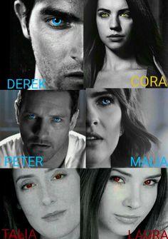 Teen Wolf Peter, Teen Wolf Malia, Teen Wolf Stiles, Cora Hale, Malia Hale, Series Movies, Movies And Tv Shows, Reign, Peter Hale