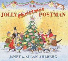 The Jolly Postman brings a batch of wonderful letters for Christmas, including notes from the Big Bad Wolf and all the King's men.