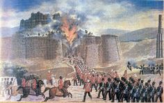 """""""The First Anglo-Afghan War (also known as Auckland's Folly) was fought between the British East India Company and Afghanistan from 1839 to 1842.... It was one of the first major conflicts during the Great Game, the 19th century competition for power and influence in Asia between the United Kingdom and the Russian Empire."""" Even after three Anglo-Afghan Wars, foreign competition over influence in Afghanistan continues to this day. #Imperialism"""