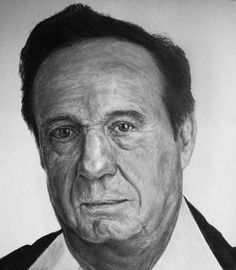 Chespirito portrait by carlos roque, via Behance