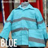 Hi Viz Shirt Blue Now stocked at Little Sis Creations