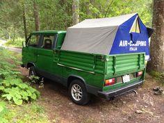 Vw doka camping