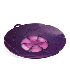 Purple Kochblume 10'' Spill Stopper by Kuhn Rikon #zulily #zulilyfinds
