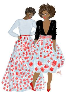 Sisters by Nikisgroove on Etsy