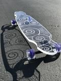 Swirl Ghost Board – Ghost Long Board Orange, Yellow, Big Boys, Shark, Purple, Blue, Turquoise, Green, Sharks