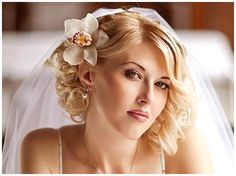Wedding Hairstyles With Veil For Short Hair - Wedding Hairstyles ...