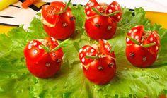 Snack «ladybugs»