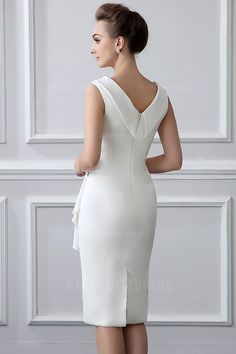 Sheath/Column V-neck Tea-length Mother of the Bride Dress With Ruching Crystal DetailingSpecial Occasion Dresses,Evening Dresses,Party Dresses,Cocktail Dresses,buy Even… – Women FashionSpecial Occasion DressesEvening DressesParty DressesCocktail Cocktail Dresses Online, Evening Dresses Online, Cheap Evening Dresses, Womens Cocktail Dresses, Elegant Dresses, Evening Gowns, Beautiful Dresses, Prom Dresses, Formal Dresses