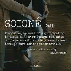 Sophistication French Words With Meaning, Beautiful French Words, Cool French Words, Pretty Words, Cool Words, Meaningful Words, 1313 Meaning, Word Meaning, Single Word Quotes