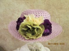 Hey, I found this really awesome Etsy listing at http://www.etsy.com/listing/126163915/girls-lavender-easter-hat-girls-easter