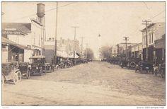 RP: Main Street (dirt) , AUGUSTA , Wisconsin , PU-1923 - Delcampe.com